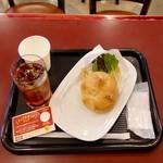 カフェ ベローチェ - モーニングAカイザーサンドツナメルト390円