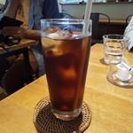 カフェ グローブ - アイスコーヒー