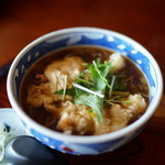 蕎麦処 多賀 - 天玉とじ