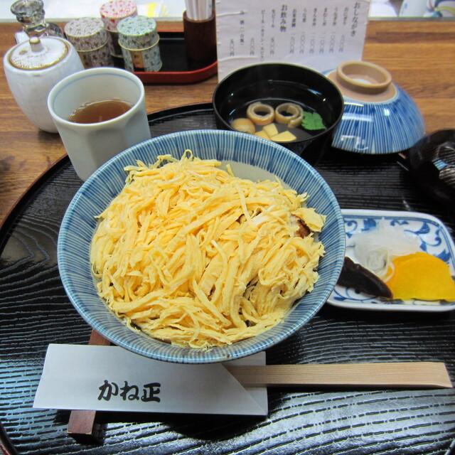かね正 - 錦糸丼¥1200(お吸いもの+お漬物付き)