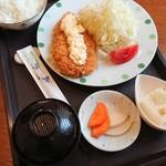 キッチン敏 - チキンカツ定食