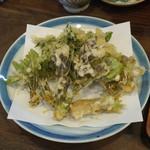 そばきり 萬屋町 助六 - 春野菜の点ぷら