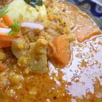 ガネーシュ m - レンズ豆と野菜