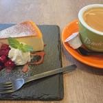 カフェグラン - ケーキセット