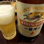 106942478 - 瓶ビール 550円
