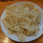 りきどう - 料理写真:凄平麺つけめんチャーシュー