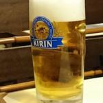 新喜八 - ◆生ビール(大) 850円