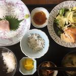 魚康 - 日替わり(1080円、最初の写真を失念)