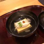 衛藤 - 白魚 玉子豆腐