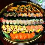 廻鮮寿司錦 - 寿司盛合せ6人前