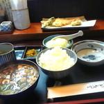 天富士 - 料理写真:天ぷら定食1050円