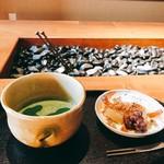 大人の日本酒バル いろり - 抹茶とわらび餅