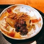 大人の日本酒バル いろり - わらび餅