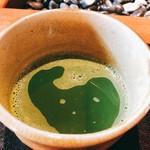 大人の日本酒バル いろり - 西尾産抹茶
