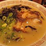 106959162 - 元スープが素晴らしい仕上りだ。  俺が「天の川スープ」と最高位の誉れを讃える、  極上級のスープがそこにあった。