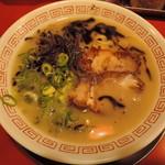 106959163 - 【熊本ラーメン】500円 麺の硬さ:普通