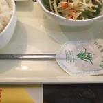 シンミジョウ - 中国語と韓国語が混ざっていますが店員さんは中国語話していました