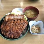 106961184 - 特製ソースかつ丼(1700円)