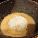 Oosakamentetsu - 「大山」の残った自然薯に「ご飯割り」