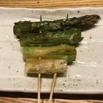 ふくのかみ - 料理写真:アスパラ