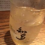 鶏そば十番156 - ドリンク写真: