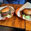 オーハイ バーガー - 料理写真:ハンバーガーセットに和牛バーガー