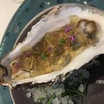 ジュー ドゥ マルシェ - ・岩手産 生牡蠣 コンソメジュレ 大好きな生ガキ。ジュレはもう少し柔らかい方が好みかな。