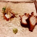 鮨 いの - 初鰹 煮蛸
