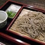 盛屋 - 料理写真:そば処盛屋・もりそば(大)¥700
