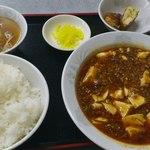 若大将 - 麻婆豆腐定食