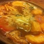 角丸 - 牡蠣入り味噌煮込み