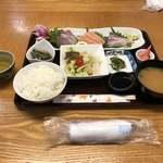 喜八亭 - 料理写真:居食や 喜八亭(お刺身定食)