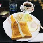 喫茶ウイング - 料理写真:☆モーニング(税込500円)