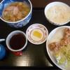天霧  - 料理写真:'19/05/01 ミニ唐揚げセット(税込820円)
