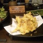薩摩ごかもん - ゲソは天ぷらに