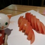 10698816 - 冷やしトマト ¥500