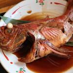 平の食堂 - 金目鯛