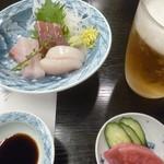 いづみ荘 - '19/05/01 生ビール4杯(2,000円+税)