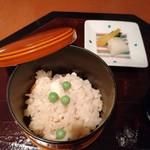 中村孝明YOKOHAMA - 炊き込みご飯