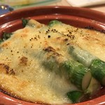 たいしょう - アスパラガスのチーズ焼き