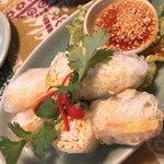 タイの食卓 クルン・サイアム×アティック× - 生春巻き