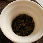 BUND CAFE - 冬季限定高山茶の阿里山です。