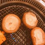 厚切焼肉 瀨城 - 肉厚椎茸