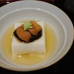 106995045 - 鯛の白子豆腐。