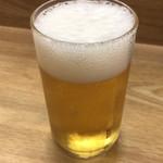 丸徳ラーメン - ビール