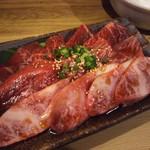 ホルモン焼肉 肉の大山 - 三種盛り(カルビ・ロース・ハラミ)  1,814円