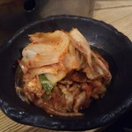 ホルモン焼肉 肉の大山 - 白菜キムチ 410円