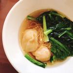 107002382 - 香港海老ワンタン麺