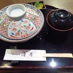 Seigetsu - 肝入り鰻丼3,600円(税込)