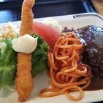 お食事工房 クック - ハンバーグ定食